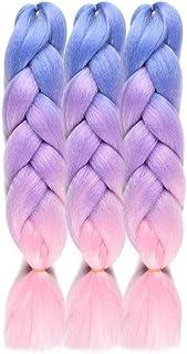 Baby Blue Braiding Hair