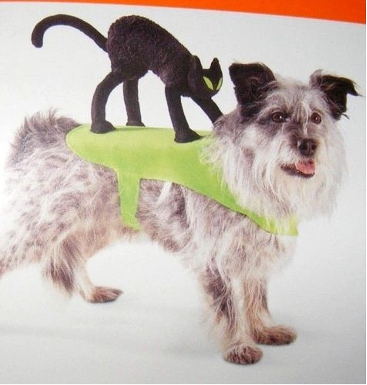 Black Cat Pet Halloween Costume For S M Dogs Up To 50 Pounds