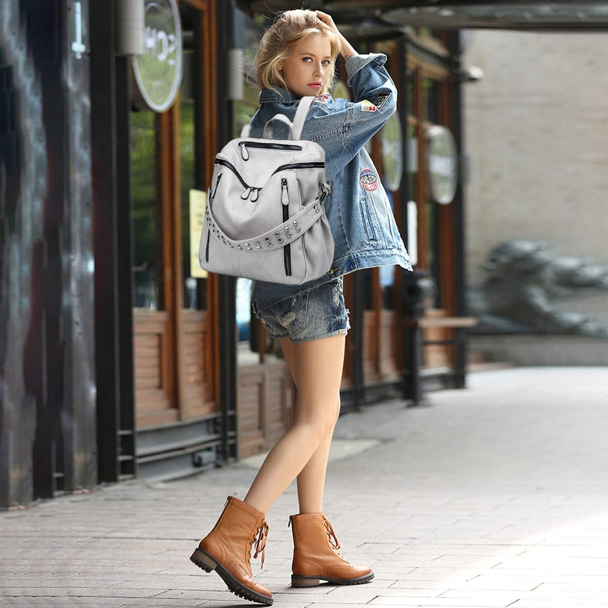 Tisdaini Sacs port/és dos Femme Mode Loisir Voyage Etudiante Sac a dos Sacs bandouli/ère business sacs a dos FR917