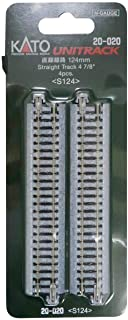 KATO Nゲージ 直線線路 124mm 4本入 20-020 鉄道模型用品
