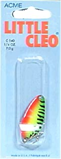 acme Little Cleo Fishing Terminal Tackle, 1/4-Ounce, Fire Tiger