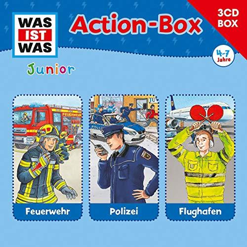 Was Ist Was Junior - 3-CD Hörspielbox Vol.1 Action