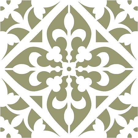 Reusable Stencil for Home DIY decor FAUX MURAL V0005 Medium Size J BOUTIQUE STENCILS Damask Wall Stencil