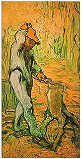 ArtPlaza Van Gogh Vincent-Woodcutter Decorative Panel, Wood, Multi-Colour, 70 x 1.8 x 140 cm