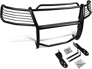 DNA MOTORING Black GRILL-G-029-BK Front Bumper Brush Grille Guard