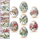 ukrainisches-kunsthandwerk Ostereier Folie.Aquarell Vogel. Nr.44 reicht für 7 Eier