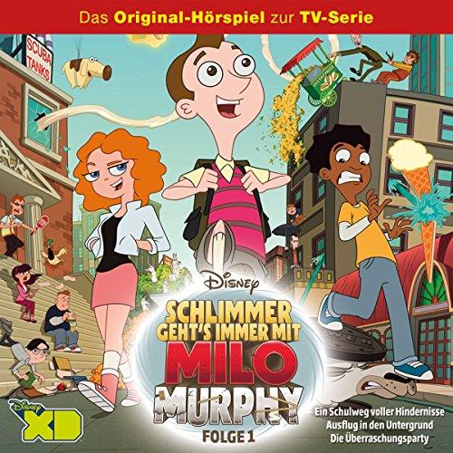 Ein Schulweg voller Hindernisse (Milo Murphy - Schlimmer geht's immer 1) Titelbild