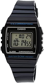 Casio Digital Dial Blue Resin Band Watch [W-215H-2A], For Unisex