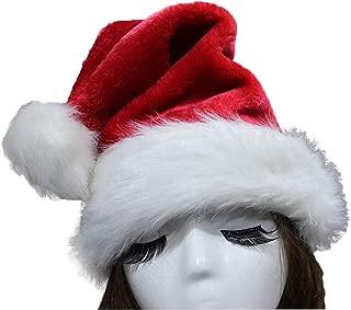 Best deluxe velvet santa hat Reviews