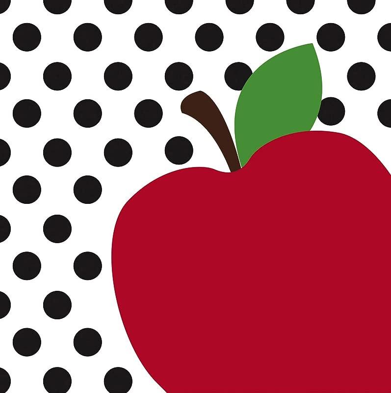 Teacher S Apple Paper Luncheon Napkin Set Of 20 7 X 7 Inches