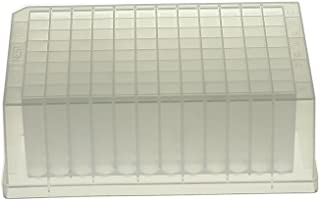 Nest Scientific 503001 96-Well Deep Well Plate, V-Bottom, Square, Non-Sterile, 2 mL, 5 per Pack, 50 per Case (Pack of 50)
