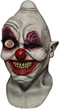 Ghoulish Animated Crazy Digital Eye Clown Head Mask Halloween Costume Accessory