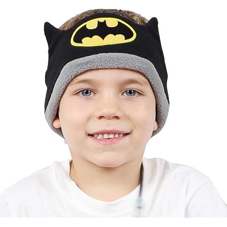 CozyPhones Over The Ear Headband Headphones - Kids Headphones Volume Limited with Thin Speakers & Super Soft Stretchy Headband - Batman