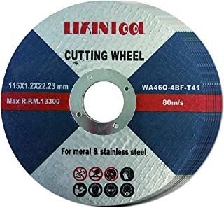 metal cutting slitting discs Industrial high quality NOVOABRASIVE Synthetic Cutting Discs 115 x 1.0 mm pack of 10 pcs for Stainless Steel and Metal