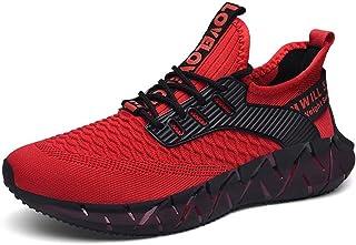 FUSHITON Uomo Moda Scarpe da Ginnastica Jogging Casual Sneakers Corsa Esterno per Jogging Traspiranti Comode