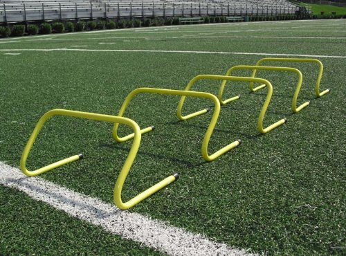 SS Sports Speed Agility Hurdle Training Set of 6 Soccer Football Basketball Track (12 inch)