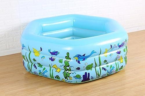 Baignoire gonflable Bébé piscine enfants en bas age océan piscine isolation seau bains gonflable spa gonflable