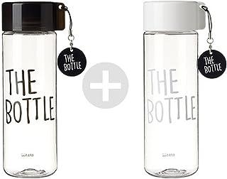 The Bottle ボトル ブラック ホワイト 2個セット 550ml 【並行輸入品】