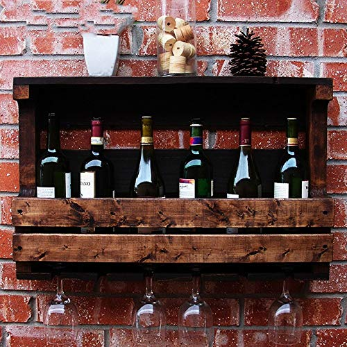 IG Weinregale Weinregal Wandhalterung Weinkühler Weinschrank Wandbehang Becherhalter Home Bar Küche Wand Wein der Erhaltung der Wein Klassifizierung Halter