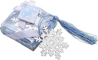 しおり 金属 ブックマーク おしゃれ 雪の结晶 雪の花 しおり 子供 学生 小さな贈り物(シルバー)