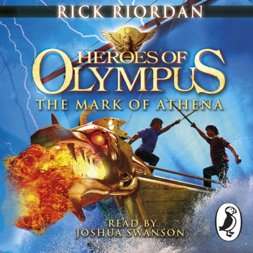The Mark of Athena     Heroes of Olympus, Book 3              By:                                                                                                                                 Rick Riordan                               Narrated by:                                                                                                                                 Joshua Swanson                      Length: 15 hrs and 8 mins     109 ratings     Overall 4.8