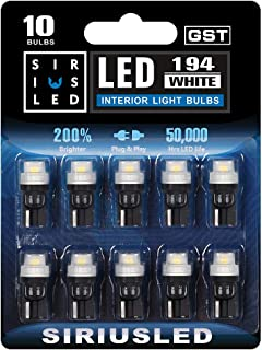 SIRIUSLED -GST- 194 LED Bulbs Extremely Bright 2835 Chipset for Car truck Interior Dome Map Door Courtesy Marker License P...