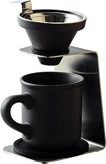 前畑 Brew Coffee(ブリューコーヒー) 一人用ドリッパー(グレー) 51642 ギフトセット