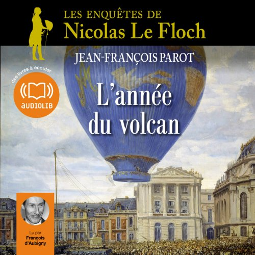 L'année du volcan audiobook cover art