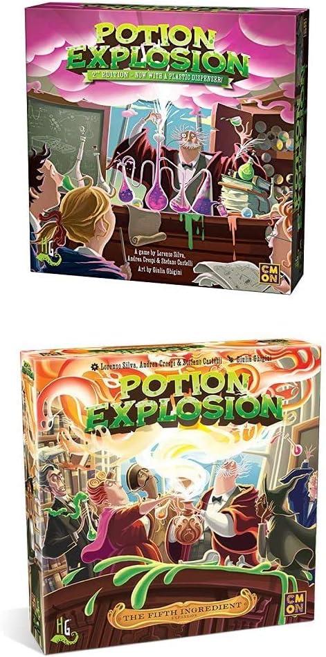 Horrible mart Elegant Games Potion Set Explosion Deluxe