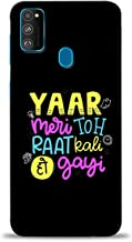 PRINT STATION Printed Back Case Cover for Samsung Galaxy M30s - 6640