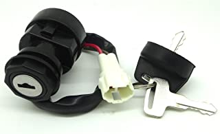 ConPus Ignition Key Switch for Yamaha Raptor 660 YFM660 2001 2002 2003 2004 2005 ATV Wolverine 350 YFM350 2002 03 04 05 06 07 08 2009 ATV Raptor 700 YFM700 2006 2007 2008 ATV Raptor 250 YFM250