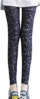 [MT's SHOP] レギンス レディース パンツ 柄物 9分丈 美脚 伸縮 ストレッチ素材 スキニー フリーサイズ B