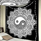 MIASDUANFA tapizMandala Indio para Colgar en la Pared, Manta de Playa de Arena, Manta, Tienda de campaña, colchón de Viaje, tapices de Almohadilla de Dormir Bohemia