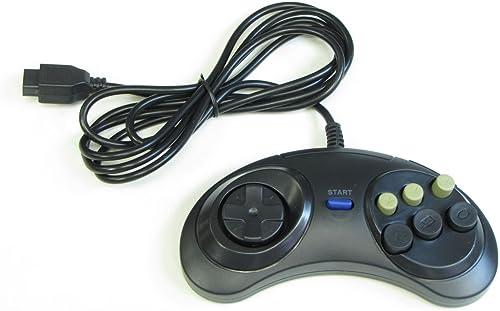 Manette 6 Boutons pour Sega Megadrive / Master System / Genesis