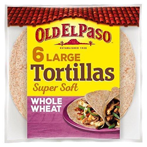 Old El Paso Vollkorn 6 Tortillas 350g
