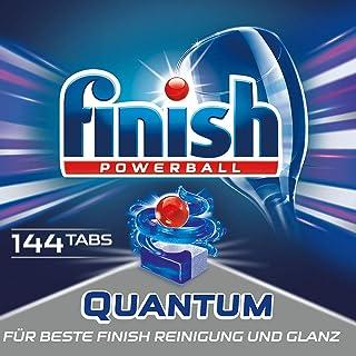Finish 亮碟 Quantum系列 洗碗机洗涤块 3个月用量 超值装 1包 (1 x 144 块)