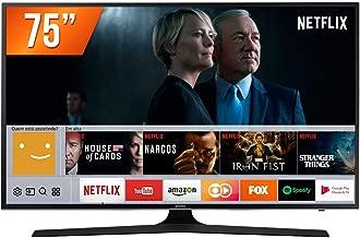Smart TV LED UHD 4K 75'', Samsung UN75MU6100GXZD, Preto