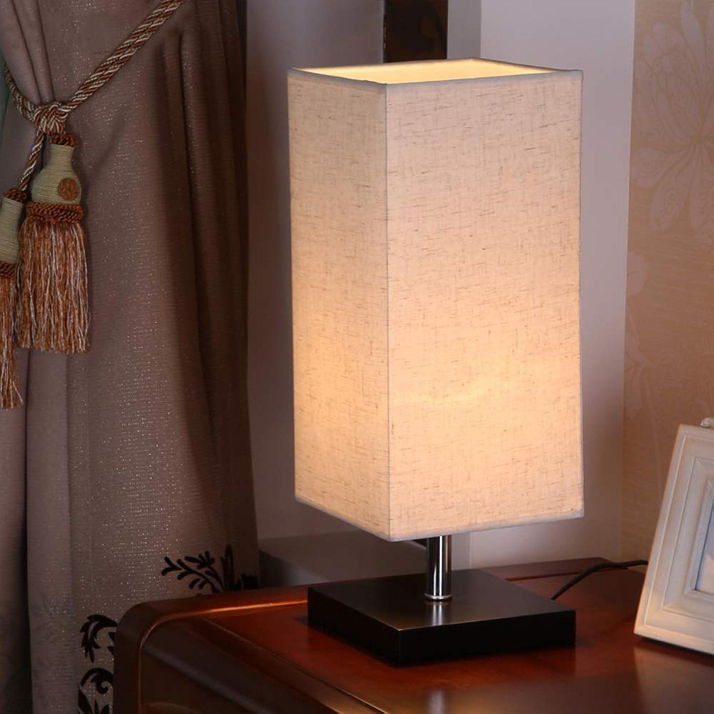 LLYU Modernes Wohnzimmer, Couchtisch, Büro, Kinder, quadratische Nachttischlampe B07MDNC96Y   Haben Wir Lob Von Kunden Gewonnen
