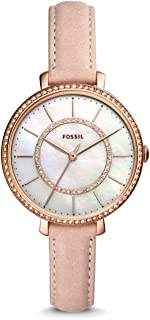 Fossil Jocelyn ES4455 Leather Analog Casual Watch for Women