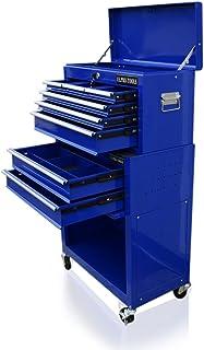 Carro de herramientas de US Pro Tools, color azul, con