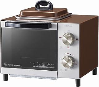 コイズミ オーブントースター 目玉焼き機能付き ブラウン KOS-0703/T