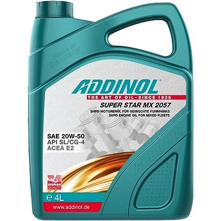 Addinol Super Star Mx 2057 20w 50 A3 B3 E2 Motorenöl 4 Liter Auto