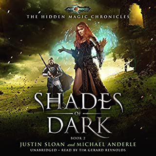 Shades of Dark audiobook cover art