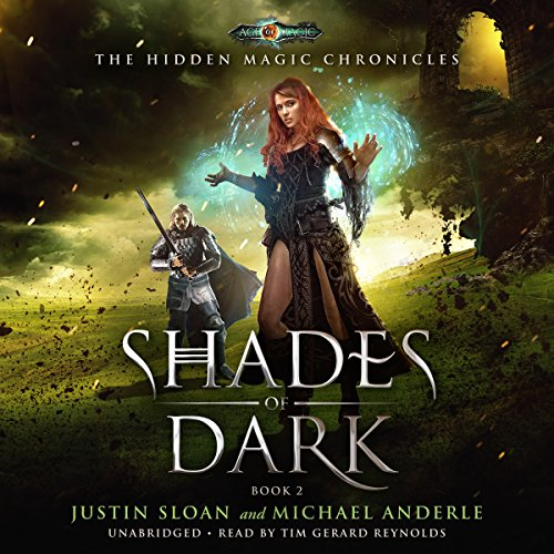 Shades of Dark Audiobook By Michael Anderle,                                                                                        Justin Sloan cover art