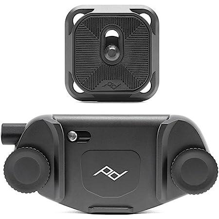 Peak Design Capture Camera Clip V3 (Black with Plate)