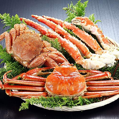 北海かにずくし タラバ蟹/毛蟹/ずわい蟹 KM15001300