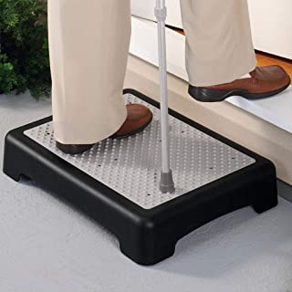 Premium Lightweight & Sturdy Non-Slip Indoor Outdoor Step Mobility Aid/Step for Elderly, Seniors, Handicap, Toddlers or Pets (1 Pack)