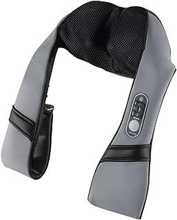 HoMedics Cordless Shiatsu Talk Voice Controlled Neck & Shoulder Massager with Heat