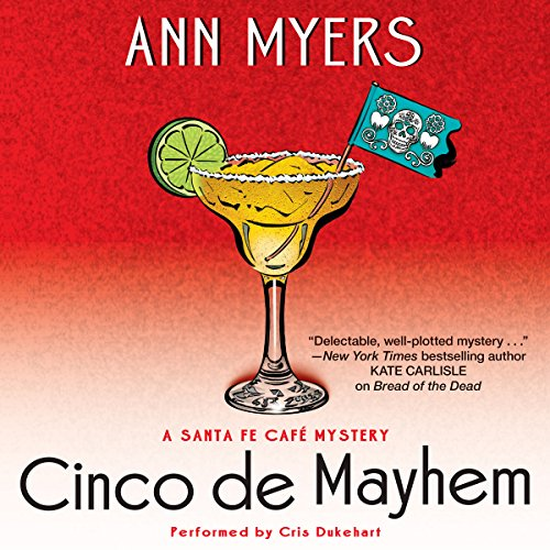 Cinco de Mayhem audiobook cover art