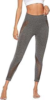 Dawwoti Running Leggings for Women Slimming Yoga Tights Butt Lifting Running Tights